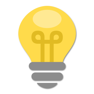 Light Bulb Icon - Software Planning