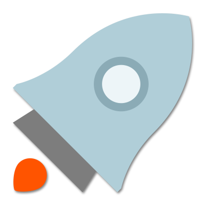Rocket Icon - Software Testing & Delivery