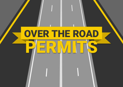 Over the Road Permits Website & Logo