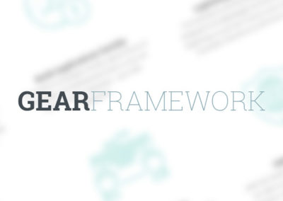 Gear Framework Software & Website