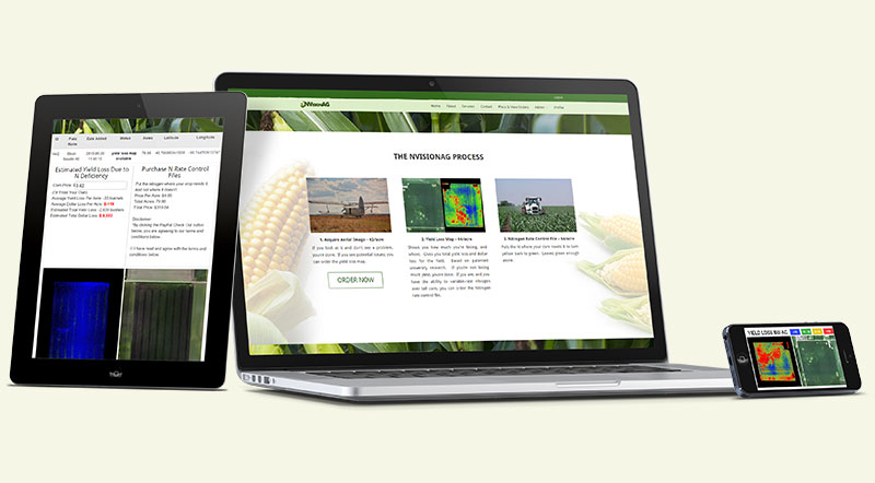 Nvision Agriculture Geospatial / GIS Development Website