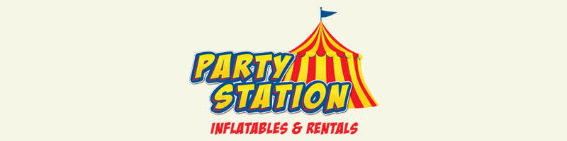 Party Station Inflatables Logo
