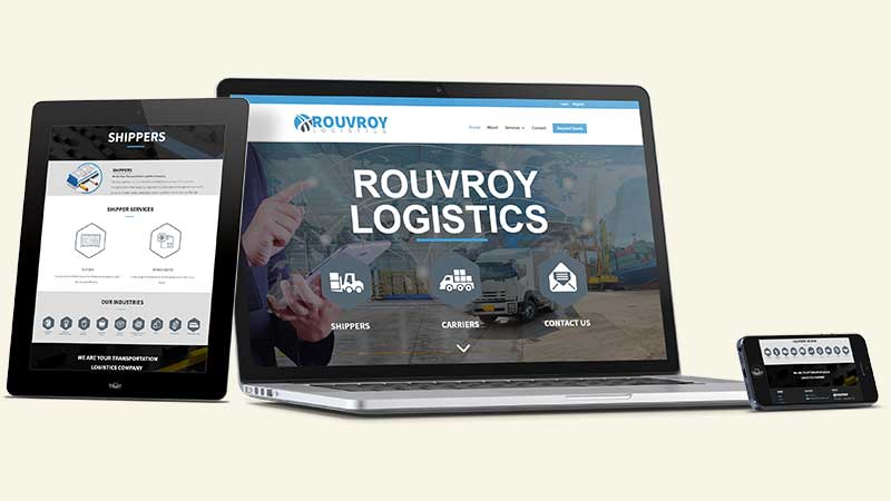 rouvroy-logistics-website-device-mockup